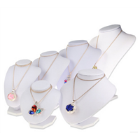 International Jewelry Fair Necklace Counter Top Display Stands