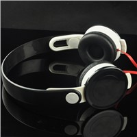 Stereo Lightweight Foldable Headphones with Microphone, 3.5mm for Smartphones iPhone Laptop Computer