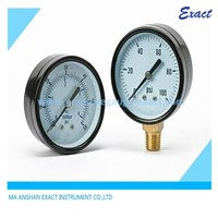 63mm Bottom and Back Connection Water Pressure Gauge