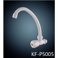 wall mounted ABS white color kitchen faucet