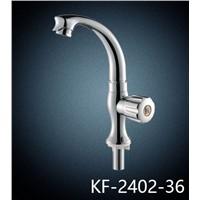 ABS chrome surface single handle kitchen faucet