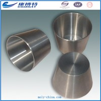 High temperaturer melting furnace use wolfram  tungsten  crucible for sapphire melting