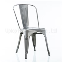 (SP-MC035) French gunmetal marais industrial tolix cafe chair
