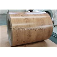 Wooden grain prepainted galvanized steel coil/ppgi