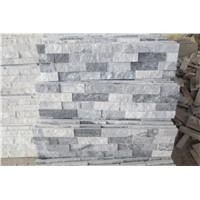 grey and white quartziute culture stone