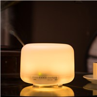 Christmas gift 500 ml LED color changing essential oil ultrasonic Aroma Diffuser