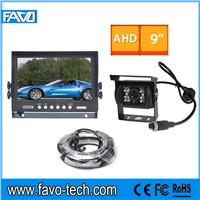 DC12V & 24V 960P AHD HD 9'' Backup Camera System for Buldozer machine