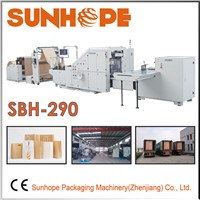 Sbh290 Block Bottom Kraft Paper Bag Machine