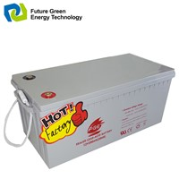 12V200ah AGM Deep Cycle Lead Acid Solar Battery