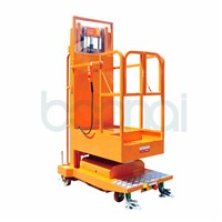 4m Lifting Equipment Mobile Aerial Stock Picker (Triple Masts)