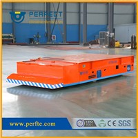 35t trackless battery powered carriage  used in steel factory