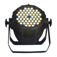 LED Par Light with 54x3W Cool/Warm White Cree LED 2800K - 6500K for Architecture, Studio, Camera