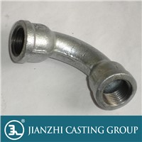 1 UL/FM/CE Threaded Male&Female long sweep bends Galvanized/Black Malleable Iron pipe fittings