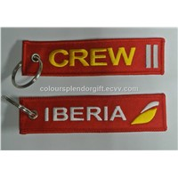 Crew Iberia Personalized Promotional Key Tags Fobs Wholesale