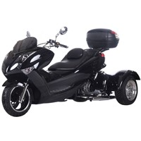 "Ice Bear SPORTY 300cc Motor Trike ""MAGNUM-300"" with Windshield & Big Rear Trunk"