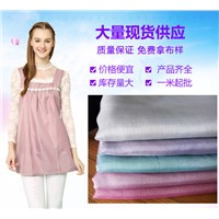 colorful emf shielding silver fiber fabric for radiation maternity dress