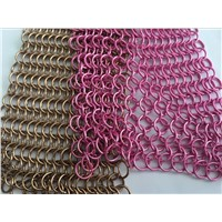 chain link decorative wire mesh curtain for sale popular made in china