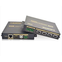 HDMI KVM switch extender 100m Usb Kvm Switch Audio