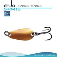 Angler Select Hard Plastic Top Water Spoon Fishing Tackle Lure