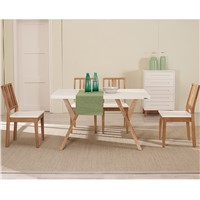 Replica Dining room Furniture Modern Wood Dining Table Set