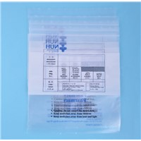 Plastic Printed Airtight Ziplock Medical Use Bag for Dispensing Table