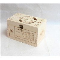 Bottom Price Wooden Napkin Container