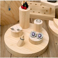 Bottom Price Wooden Ring Display Stand