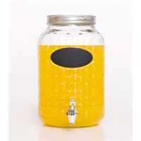Factory Price Glass Jars With Tap And Decal