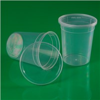 Plastic package cup for food or candy
