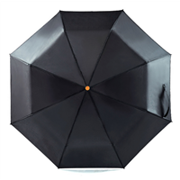 Windproof Umbrellas Manual Open Sturty Metal Pongee Compact Durability Three-folding Umbrella