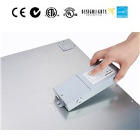 CE TUV UL 40w 600x600 Ceiling Surface Mounted LED Panel Light