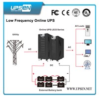 LCD Display 3 Phase Input 3 Phase Output Low Frequency Online UPS