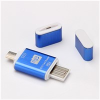 OTG card reader / Memory Card reader for Android Smartphone/PC