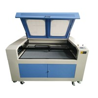 CNC CO2 Laser Engraving/Cutting Machine for Cloth/Textile 1600*900mm/HQ1690