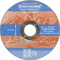 Resin Abrasive Cutting and Grinding Disc for Metal