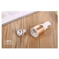2 in 1 Wireless Bluetooth  In-Ear  Car Charger   Bluetooth  Headset Earphone  Air cleaner
