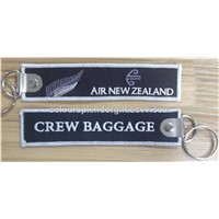 Air New Zealand Crew Baggage Embroidered Keychains