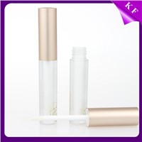 Direct Factory Frosted Plastic Screen Printing Custom Cosmetics Plastic frosted lip gloss tubes
