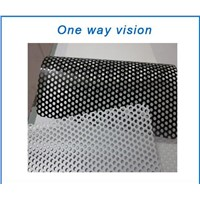 High Quality Printing Material Economical Tri-layers 70gsm / 120micron One Way Vision For UV