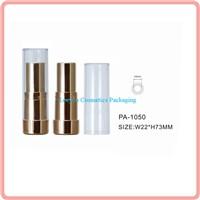 Luxury lipstick tube plastic lipstick container cosmetic lipstick case