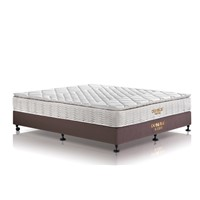 Bamboo fiber fabric pocket spring mattress