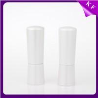 Shantou Kaifeng Pearl White Hot Stamping Cosmetics Plastic Lipstick tube Custom CS-2193
