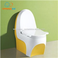 [Waxiang WA-8000] Child's White Ceramic Round Small Toilet, Fashion Designed