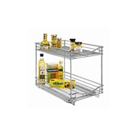 Wire Drawer, Roll Out, Double Tier, KD Design