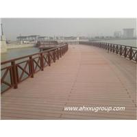 wpc wood plastic composite outdoor decking flooring