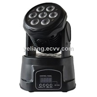 Mini Stage Lighting 7pcs 4in1 Moving Head Wash Light