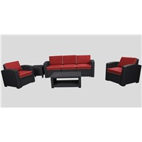 Outdoor Furniture Plastic Patio Sofa