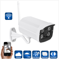 Outdoor Wireless WiFI HD 1080P IR Night Vision IP Bullet Camera ONVIF