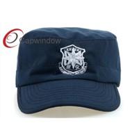 Capwindow customized 100% cotton  popular police hat