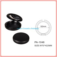 Compact powder case, foundation press powder case, powder case